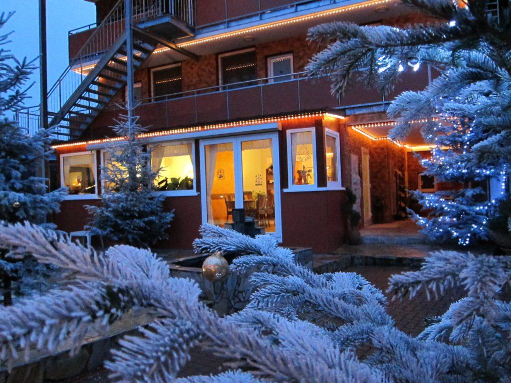 Gästehaus Parkblick im Winter