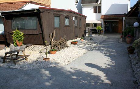 Gästehaus Parkblick - Außenbereich