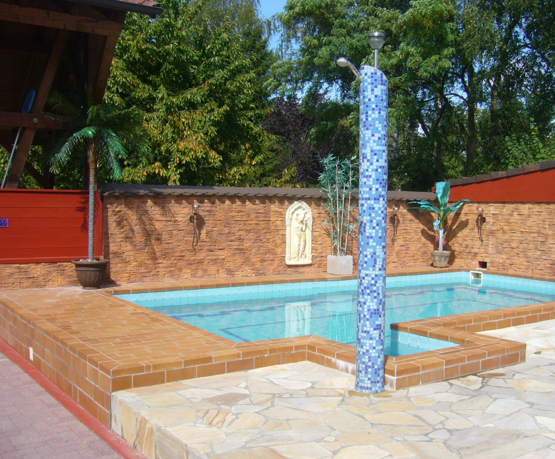 Gästehaus Parkblick - Pool