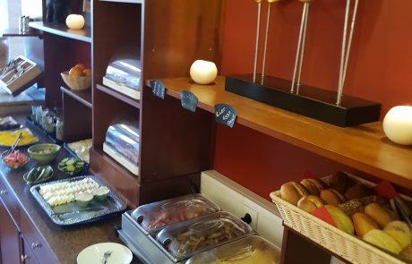 Gästehaus Parkblick - Frühstücksbereich